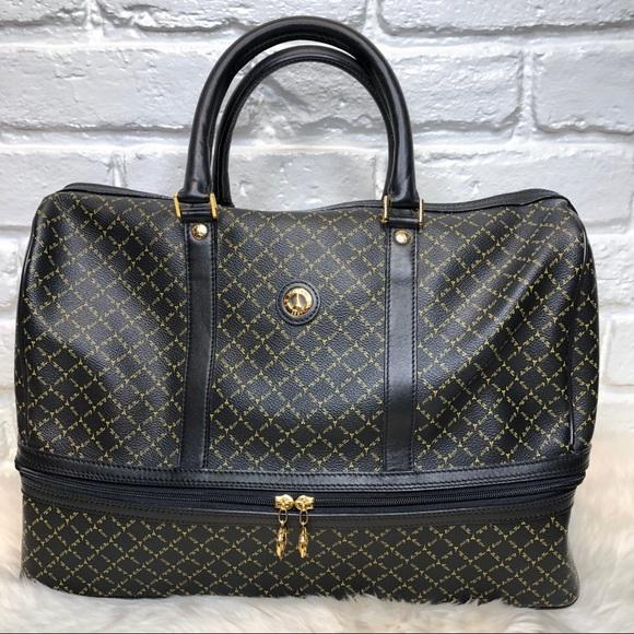 Rioni Handbags - La Tour Eiffel 1887 weekender travel bag